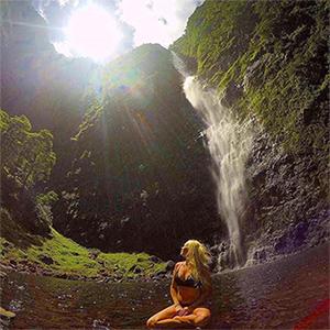 Let Us Show You the Way to Hanakoa Falls!